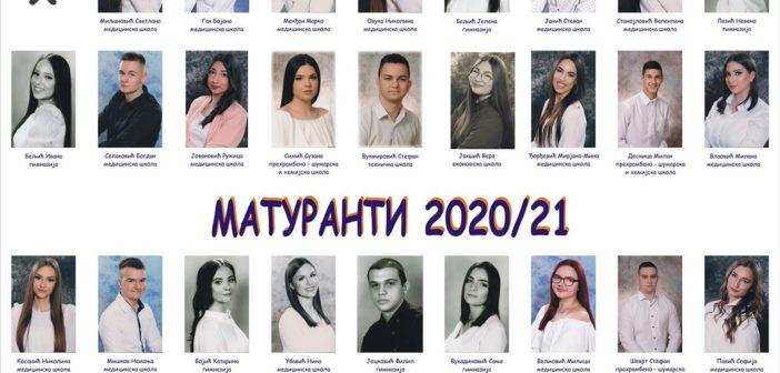 МАТУРАНТИ 2020/21